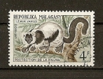 Stamps Asia - Malaysia -  Lemur Varius.