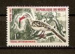 Sellos del Mundo : Africa : Níger : Tockus Erithrorhynchus.