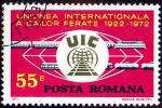 Stamps Romania -  UIC