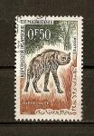 Stamps Africa - Mauritania -  Hyene Rayee.