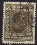 Stamps Europe - Yugoslavia -  YUGOSLAVIA 1926 Scott 42 Sello Rey Alexander Kraljevina Srba, Hrvata i Slovenaca usado