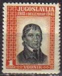 Stamps Yugoslavia -  YUGOSLAVIA 1943 Scott 1K5 Sello Nuevo Serie Personajes V. VODNIK