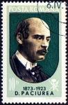 Stamps Romania -  D PACIUREA