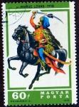 Stamps Hungary -  KURUC LOVAS . 1710