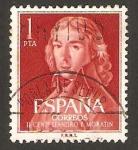 Stamps : Europe : Spain :  1328 - II Centº del nacimiento de Leandro Fernández de Moratín