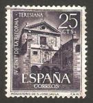 Stamps Spain -  1428 - IV centº de la Reforma Teresiana, Monasterio de San José en Avila