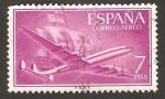 Sellos de Europa - España -  Supercostellation y nao Santa María