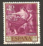Stamps of the world : Spain :  1239 - Las hilandera, de Velázquez