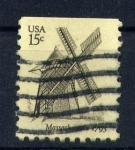Sellos de America - Estados Unidos -  Massachuses 1793