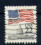 Stamps of the world : United States :  correo postal eeuu