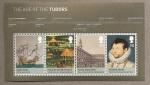 Stamps United Kingdom -  La era de los Tudor