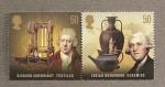Stamps United Kingdom -  Pioneros de la revolución industrial
