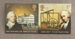 Stamps Europe - United Kingdom -  Pioneros de la revolución industrial