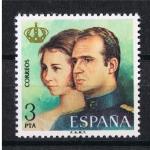 Sellos del Mundo : Europa : España : Edifil  2304  Don Juan Carlos I y Doña Sofía Reyes de España