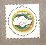 Sellos del Mundo : Asia : Singapur : Linea circular metro