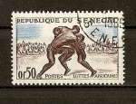 Stamps Senegal -  Luchas Africanas.