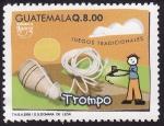 Stamps America - Guatemala -  Juegos Tradicionales TROMPO