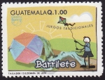 Stamps America - Guatemala -  Juegos Tradicionales BARRILETE
