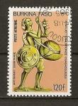 Sellos de Africa - Burkina Faso -  Artesania.