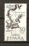 Sellos de Europa - España -  Costa de Nutka.