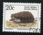 Sellos de Africa - Sudáfrica -  Erizo
