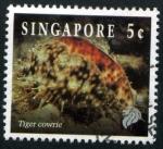 Stamps Asia - Singapore -  Pez Tigre