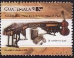 Sellos de America - Guatemala -  Marimba