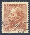 Stamps Europe - Czechoslovakia -  Karel Kovarovic  1862-1920