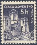 Stamps Czechoslovakia -  Trencín