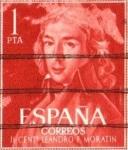 Sellos de Europa - España -  LEANDRO DE MORATIN