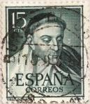 Sellos de Europa - España -  TIRSO DE MOLINA