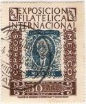 Stamps Mexico -  1er. Centenario de la Estampilla Mexicana