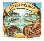 Stamps Peru -  Crustáceos