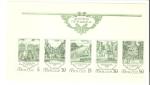 Sellos de Europa - Rusia -  Jardines, Scott # 5735-5739 Sheet of 5