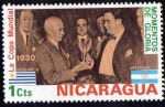 Stamps America - Nicaragua -  Copa mundial de 1930 1 cts.