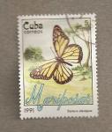 Stamps Cuba -  Danaus plexippus