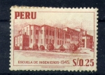 Stamps of the world : Peru :  escuela de ingenieros