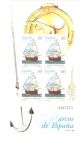 Stamps Spain -  Barcos de España, Navio Catalán