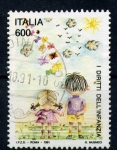 Stamps Italy -  Pro-infancia