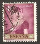 Sellos de Europa - España -  la librera de la calle de carretas, goya