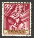 Stamps Spain -  la justicia, sert