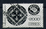 sellos de America - México -  exportación de hierro forjado
