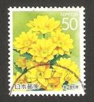 Sellos de Asia - Japón -  flora