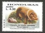 Sellos del Mundo : America : Honduras : fauna, chancho de monte