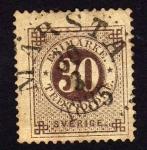 Sellos del Mundo : Europa : Suecia : sello antiguo