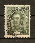 Stamps Argentina -  Jorge San Martin.