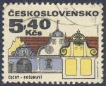 Sellos de Europa - Checoslovaquia -  Cechy  Posumaví