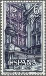 Sellos de Europa - España -  ESPAÑA 1961 1387 Sello Nuevo Monasterio de San Lorenzo del Escorial Altar Mayor