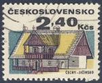 Stamps Czechoslovakia -  Cechy Jicinsko