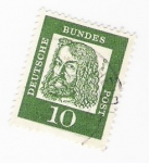 Stamps Germany -  Durer (repetido)